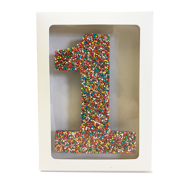 "Chocolate Gallery Freckle Number ""1"""
