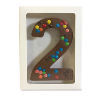 "Chocolate Gallery Mini M&Ms Number ""2"""