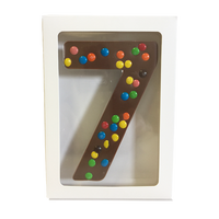 "Chocolate Gallery Mini M&Ms Number ""7"""