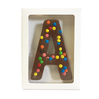 "Chocolate Gallery Mini M&Ms Letter ""A"""
