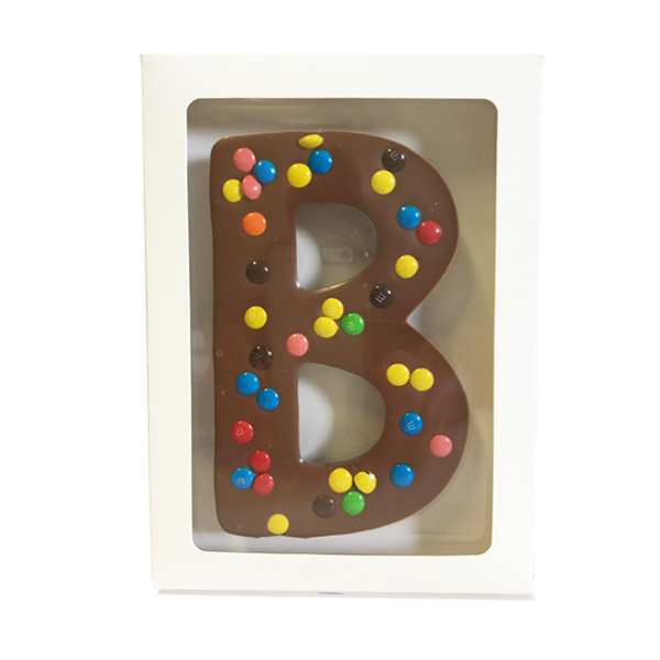 "Chocolate Gallery Mini M&Ms Letter ""B"""