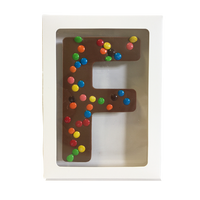 "Chocolate Gallery Mini M&Ms Letter ""F"""