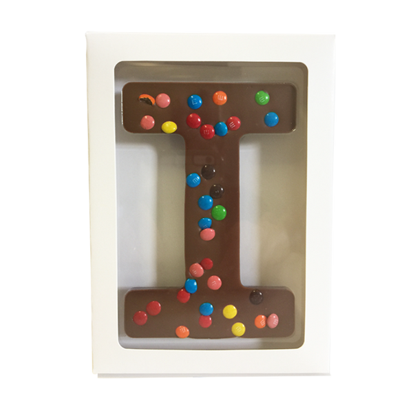 "Chocolate Gallery Mini M&Ms Letter ""I"""