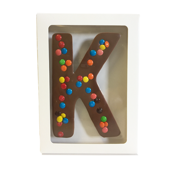 "Chocolate Gallery Mini M&Ms Letter ""K"""