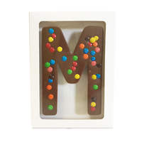 "Chocolate Gallery Mini M&Ms Letter ""M"""