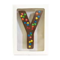 "Chocolate Gallery Mini M&Ms Letter ""Y"""