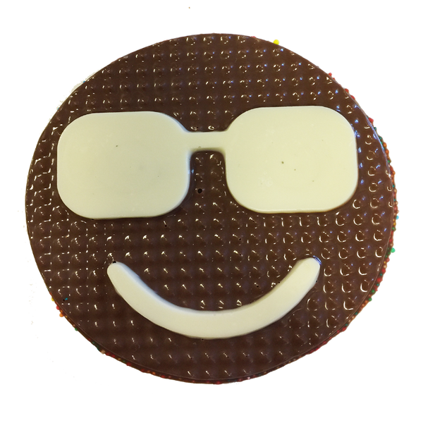 Chocolate Gallery Chocolate Emoji 7 (Cool)