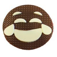 Chocolate Gallery Chocolate Emoji 13 (Laughing)