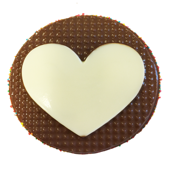 Chocolate Gallery Chocolate Emoji 11 (Heart)