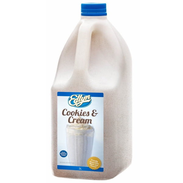Edlyn Cookies & Cream Syrup Topping