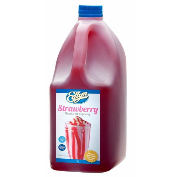 Edlyn Strawberry Syrup Topping