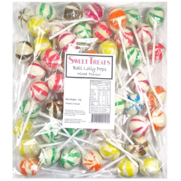 Sweet Treats Mixed Ball Lollipops