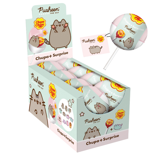 Chupa Chups Surprise Pusheen The Cat