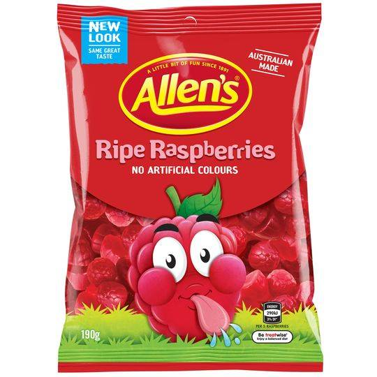 Allen's Ripe Raspberries