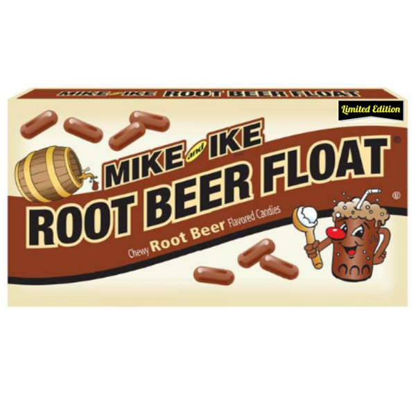 Just Born Inc Mike & Ike Root Beer Float Movie box