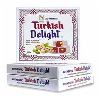 RTD Confectionery Authentic Turkish Delight Rose with Pistachio