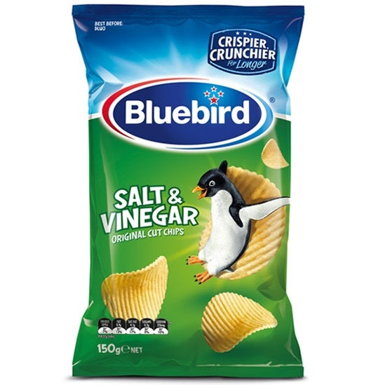 Bluebird Salt & Vinegar Original Cut Chips