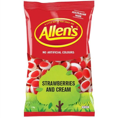 Allen's Strawberries & Cream