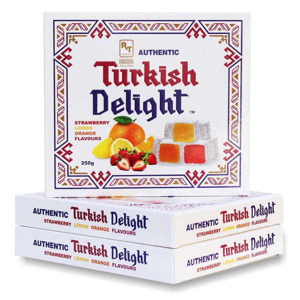 RTD Confectionery Authentic Turkish Delight Assorted