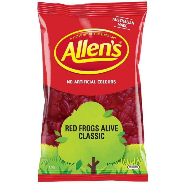 Allen's Red Frogs Alive