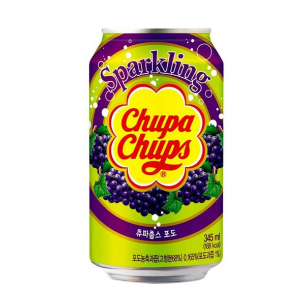 Chupa Chups Sparkling Grape 345ml