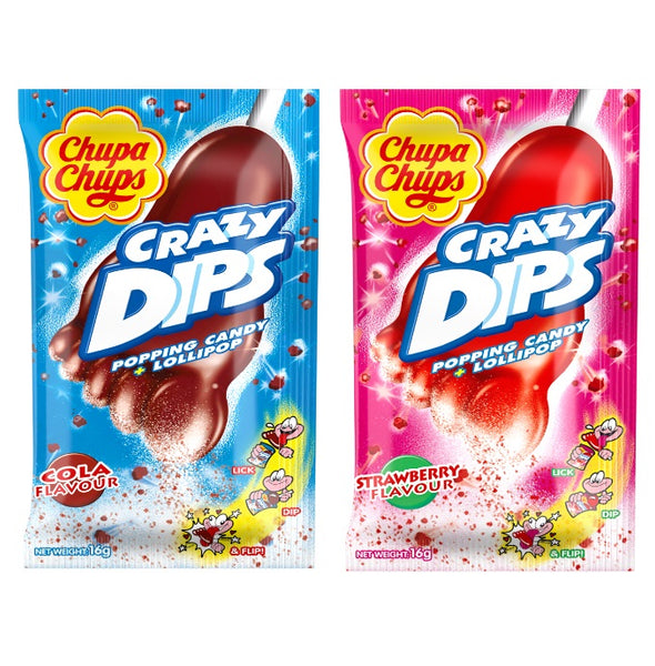 Chupa Chups Crazy Dips Strawberry/Cola