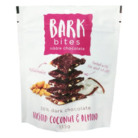 Bark Bites Nibble Chocolate Toasted Coconut & Almond