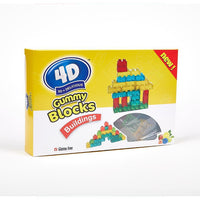 Amos 4D Gummy Blocks Buildings Box