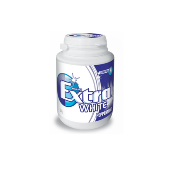 Wrigley's Extra White Peppermint Bottle S/F
