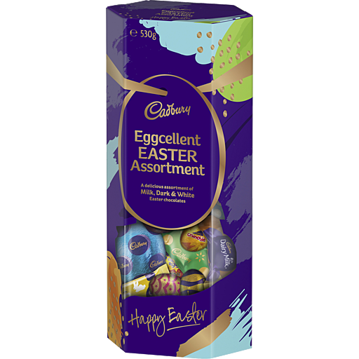 Cadbury Eggcellent Easter Assortment Box 530g