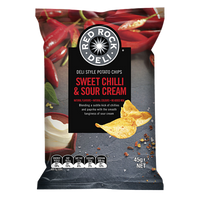 Red Rock Sweet Chilli Sour Cream Potato Chips 45g