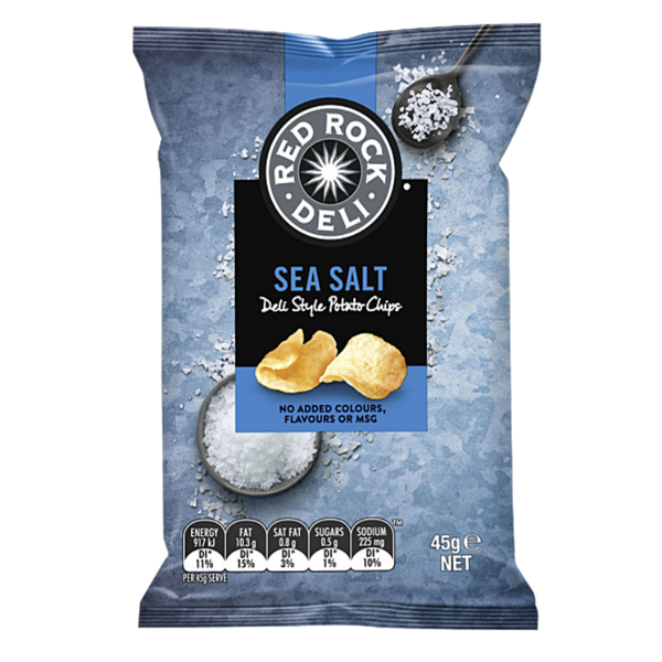 Red Rock Sea Salt Potato Chips 45g
