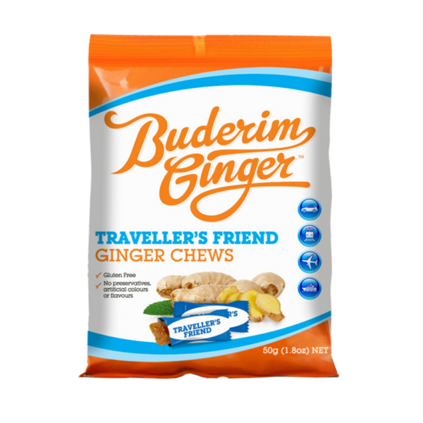 Buderim Ginger Travellers Friend Ginger Chews