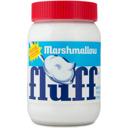 Marshmallow Fluff Spread Jar