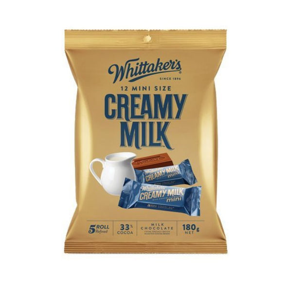 Whittaker's & Sons Creamy Milk Slab Sharepack