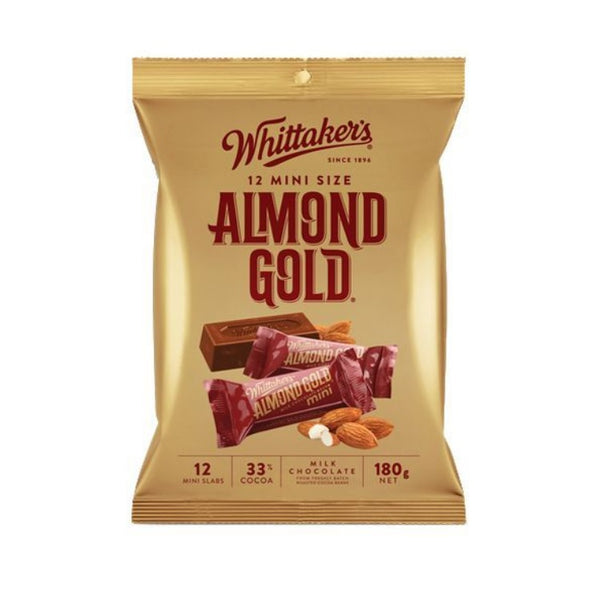 Whittaker's & Sons Almond Gold Slab Sharepack