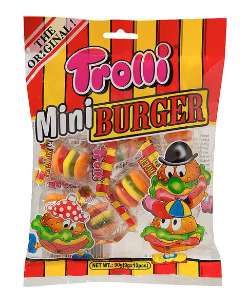 Trolli Mini Burger Bag