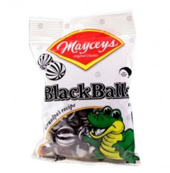 Mayceys Black Balls Bag