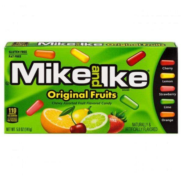 Just Born Inc Mike & Ike Original Fruits Movie Box
