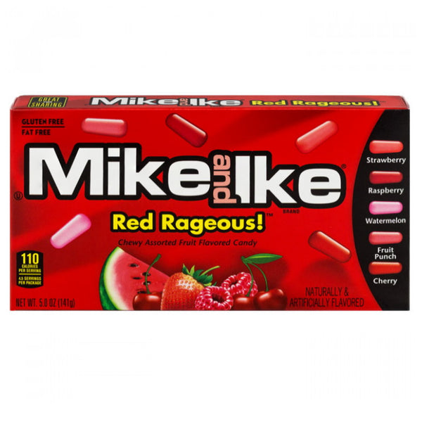 Just Born Inc Mike & Ike Red Rageous Movie Box