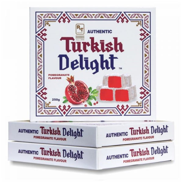 RTD Confectionery Authentic Turkish Delight Pomegranate