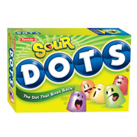 Tootsie Roll Inc. Dots Sour Gumdrops Movie Box