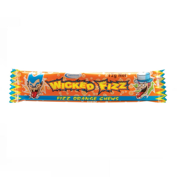 Sweetmans Wicked Fizz Orange Chews