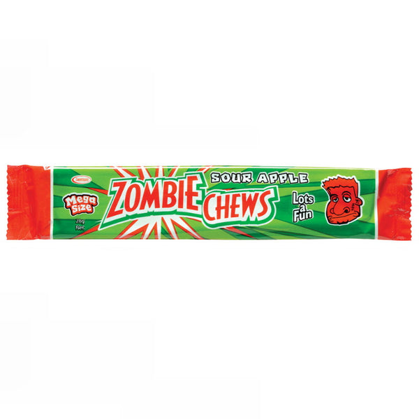 Sweetmans Zombie Chew Sour Apple