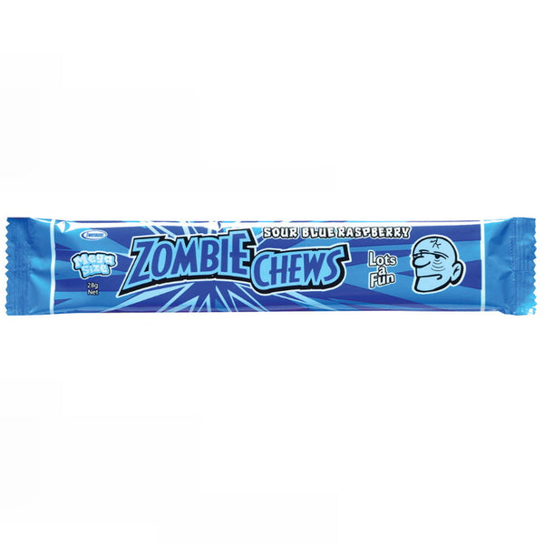 Sweetmans Zombie Chew Sour Blue Raspberry