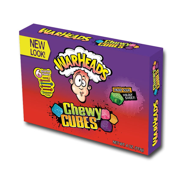 Warheads Chewy Cubes Movie Box