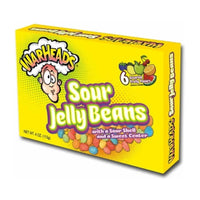 Impact Confections. Inc Warheads Sour Jelly Beans Movie Box