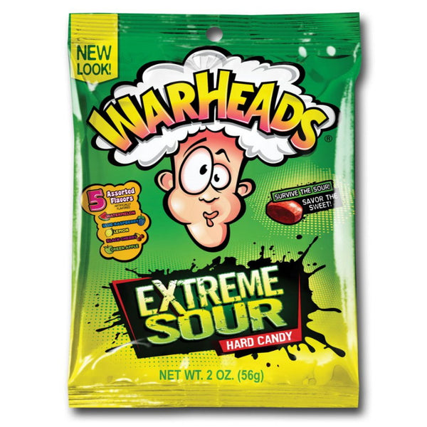 Universal Candy Pty Ltd Warheads Extreme Sour Hard Candy