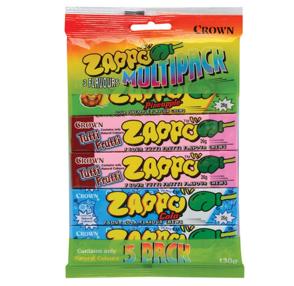 Crown Zappo Multipack 3 Flavours 5pk