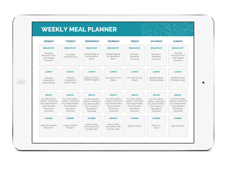Bodywize Meal Ideas - FOURTH EDITION